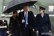 """[속보]트럼프 """"북한에 군사력 사용해야 한다면 그렇게 할 것"""""""
