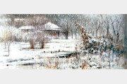 [힐링 뮤지엄]눈으로 뒤덮인 '은빛 세상'