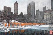 [전영백의 발상의 전환]<23>회색 도시에 펼쳐진 오렌지 빛 스펙터클