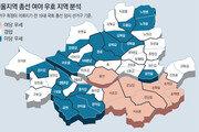 서울 우세지역 與 8곳 - 野 18곳