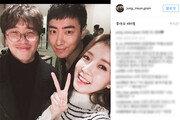 '맨몸의 소방관' 정인선, 이준혁과 함께 다정하게 '찰칵'…깜찍 브이