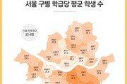 [김아연의 일상의 분석] 104명 vs 37.5명…초등학교 학급당 학생수 변천사