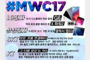LG는 'G6' 삼성은 태블릿PC…한국기업의 MWC 2017 출사표 엿보기