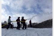 올림픽 스키 활강경기장, 책임자는 '카우보이'
