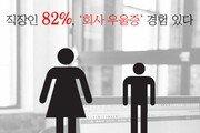 [김아연의 통계뉴스] 직장인 82%, '회사 우울증' 겪었다
