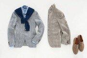 [Love&Gift]편안하고 세련된 격자무늬 글렌체크 재킷