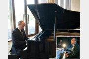 푸틴, 스트롱맨 대신 '피아노맨'