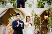 """조성윤♥윤소이, 결혼식 사진 공개 """"예쁘게 잘 살게요"""""""