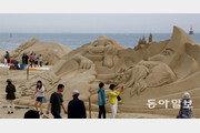 """""""모래 조각이 예술이네""""… 26일부터 해운대 모래축제"""