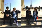 '슛돌이' 지승준, 프랑스 에펠탑에서 포착…'미모의 女와 함께'