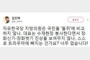 """김진애 """"김학철 막말, 스스로 트라우마에 빠지는 건가?"""""""