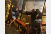 버스정류장서 30분 간 성관계 남녀 체포…영상보니 '뜨악'