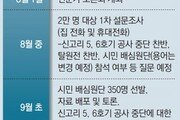 """2만명 여론조사→ 350명 공론조사… """"정부 결정 돕는 역할"""""""
