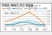 [아파트시세]여름 휴가철 영향 전세시장 전반적 안정세