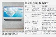 TV화면 전체가 스피커-풀HD 해상도의 4배… OLED TV, 신기술 경쟁