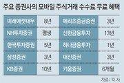 """""""수수료 무료""""… 엄지족 유치에 사활건 증권사들"""