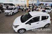 한국GM, 사회복지 기관에 '스파크 20대' 기증… 12년간 500대 기증