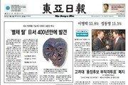 [백 투 더 동아/10월 19일] 전해지지 않던 '별채 탈', 2007년 日서 발견
