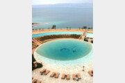 사막속 코발트빛 바다… 평화가 노니는 '중동의 파라다이스'