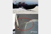 [단독]고속으로 달리면 배 들려 앞이 안보이는 해군 단정