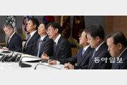 """김상조 """"대기업 공익재단 전수조사""""… 기업인들 바닥보며 한숨"""