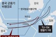 中군용기 5대, 한국방공식별구역 침범