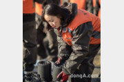 한국타이어 신입사원, 연탄 나르기 봉사활동 투입… 연탄 4000장 전달