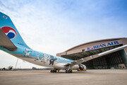'수호랑 반다비 창공을 날다', 대한항공 마스코트 래핑 항공기 운영
