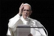 """프란치스코 교황 """"가짜뉴스는 사탄의 속임수"""""""