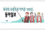 [웹툰뉴스]독자의 사랑으로 이어온 100년, 동아일보<1편>