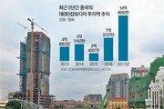 中 '메콩江 공정'… 신축 빌딩에 'SINO GREAT WALL' 간판