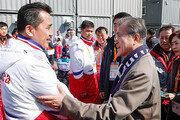 패럴림픽 北대표단 격려하는 문재인 대통령