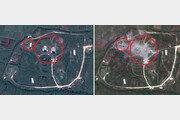美 '시리아 공습' 전·후 위성사진 보니…화학무기 단지 초토화?