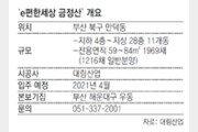 [아파트 미리보기]부산지하철 만덕역 인근… 3.3㎡당 900만원선