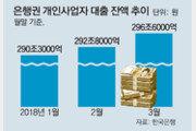 """""""개인사업자 대출 받아서 다른 곳 쓰는지 점검 강화"""""""