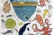 '생명의 바다 그림대회' 기발한 상상력의 날개를 펼치다