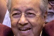 93세 마하티르 총리 복귀