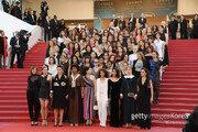 [이해리 기자의 칸 리포트] 여성 영화인 82명, 칸 레드카펫서 여성연대 선언