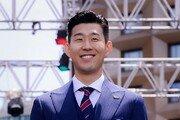 [포토] 손흥민 '내가 아시아 최고의 공격수야!'