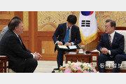"""폼페이오 """"트럼프 임기 끝나기전""""… 北비핵화 데드라인 못 박아"""
