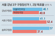 '보수 심장' 강남-대구, '구태 보수' 심판했다