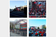 한국 VS 스웨덴, 응원 열기 '후끈'…SNS 거리 응원 인증