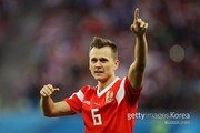 2경기 3골 데니스 체리셰프 '러시아의 희망'