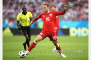 [월드컵] 덴마크-호주, 선발 명단 공개… 필승 라인업