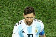 """[월드컵] 아르헨티나 매체 """"메시, 그림자 같았다"""" 혹평"""