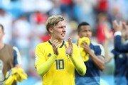 """[월드컵] 스웨덴 포르스베리 """"한국 전 승리 행복, 독일 전서 110% 발휘해야"""""""