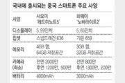 """가성비 앞세운 中 스마트폰 """"한국시장 다시 도전"""""""