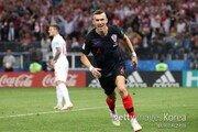 [월드컵] 크로아티아, 후반 23분 페리시치 동점골… 1-1 균형