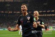 집념의 크로아티아, 잉글랜드 꺾고 '사상 첫 월드컵 결승행'