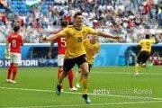 [월드컵] '뫼니에 골' 벨기에, 잉글랜드에 전반 1-0 리드